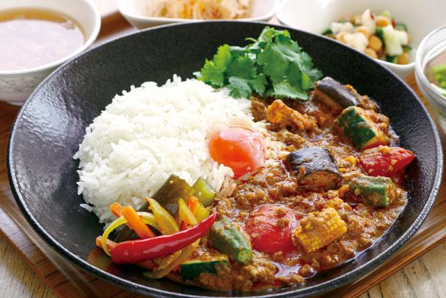 【新】ラム肉のサンバルカレー(おすすめランチメニュー)<br /> セット1700円 単品1500円