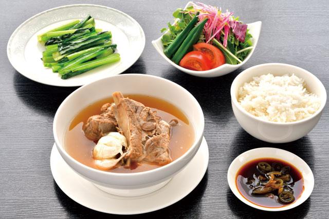 肉骨茶(バクテー)セット  1800円<br /> 2020/6/1〜